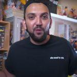 T-shirt 69 LaTrik noir portés par Jhon Rachid